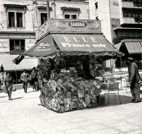 Athens Syntagma Kiosk c.1958