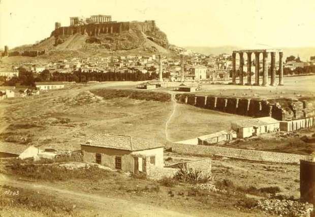 Bonfils,_Félix_(1831-1885)_-_Athens_-_Acropolis_about_1868-1875